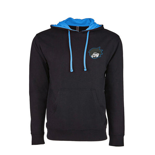 Embroidered Logo Premium Two-Tone Hoodie