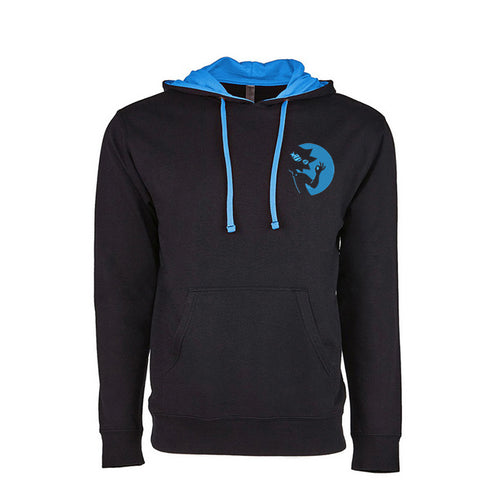 Silhouette - Premium Embroidered Two-Tone Hoodie
