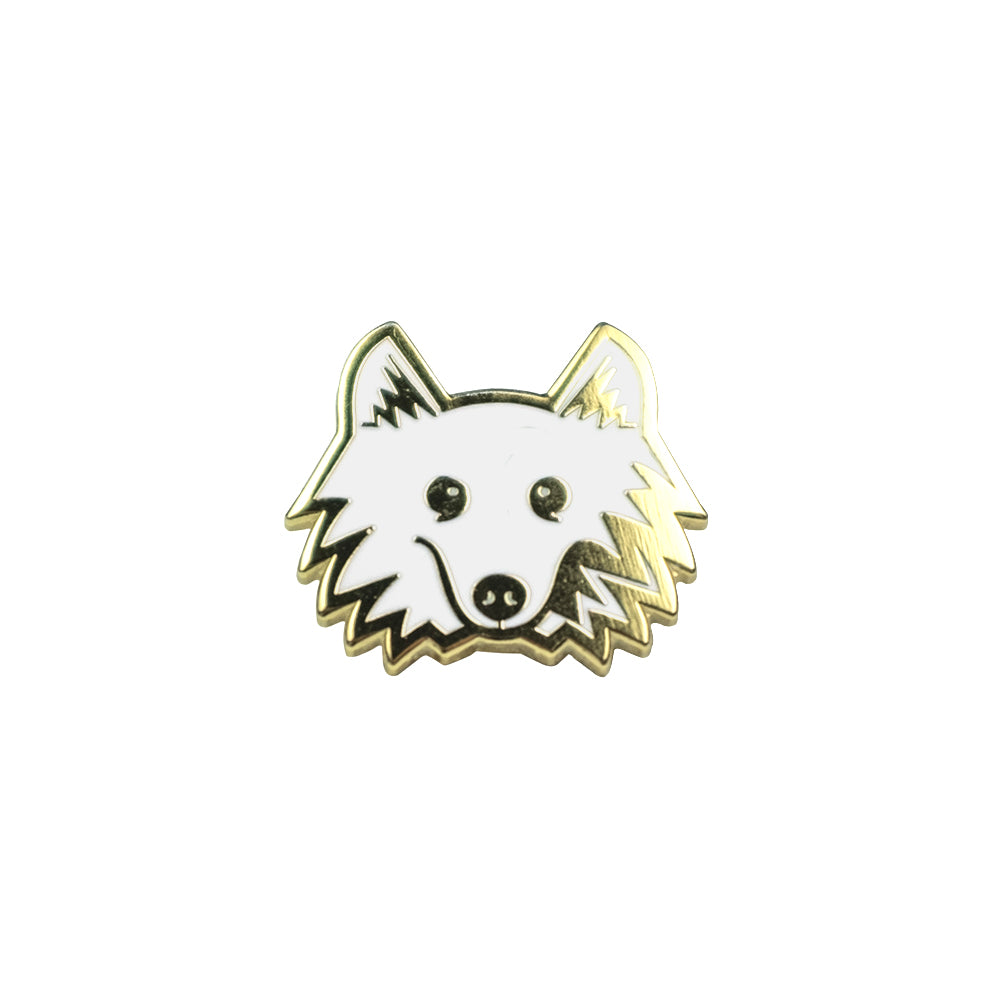 Klondike Season 2 Enamel Pin - Gold Metal