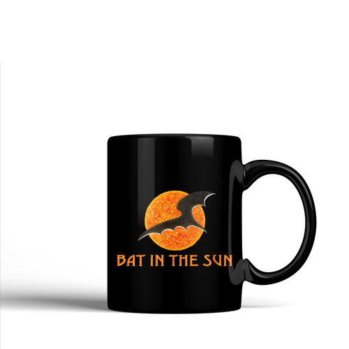 Bat In The Sun Logo -  Ceramic Mug