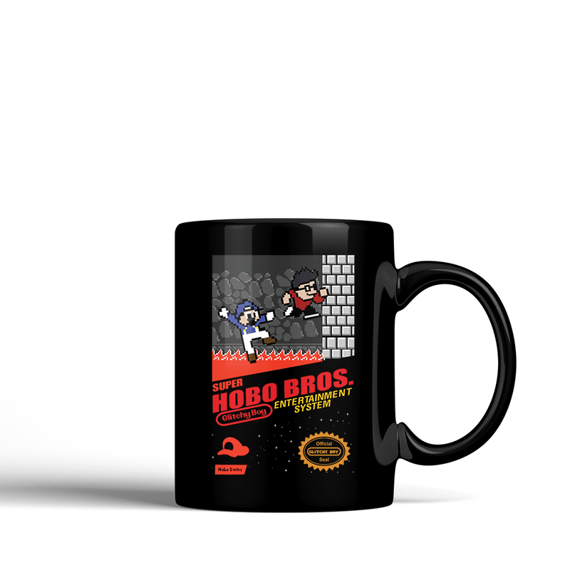 Hobo Bros Game Cartridge -  Ceramic Mug