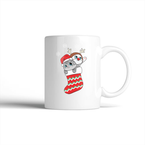 Stocking Stuf-fur Holiday Mug