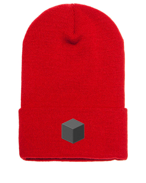 Hardware Unboxed Logo Beanie (grey logo)