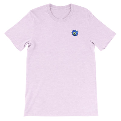 Gingerpale Icon Embroidered T-shirt Heather Prism Lilac