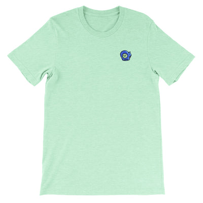 Gingerpale Icon Embroidered T-shirt Heather Prism Mint