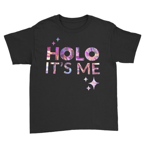 Holo Its Me - Rose Gold Holo - Kids Youth T-Shirt