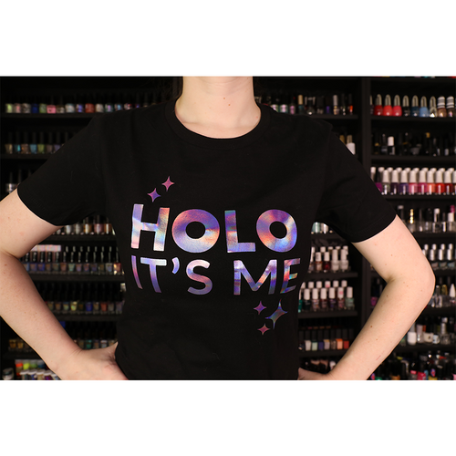 Holo Its Me - Purple Frost Holo - Ladies T-Shirt