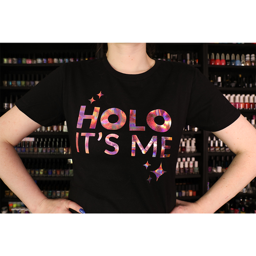 Holo Its Me - Rose Gold Holo - Ladies T-Shirt