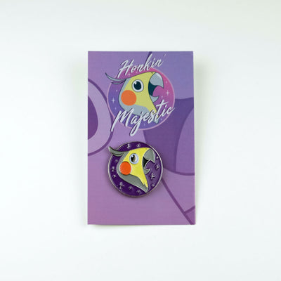 Alex the Honking Bird Honkin' Majestic Enamel Pin