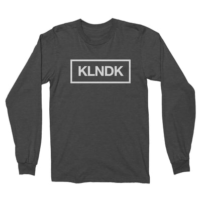 KLNDK - Unisex Long Sleeve Shirt Black Heather
