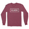 KLNDK - Unisex Long Sleeve Shirt Heather Cardinal