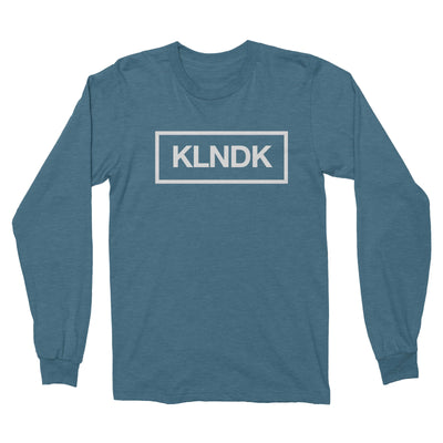 KLNDK - Unisex Long Sleeve Shirt Hthr Deep Teal