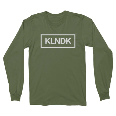 KLNDK - Unisex Long Sleeve Shirt Olive