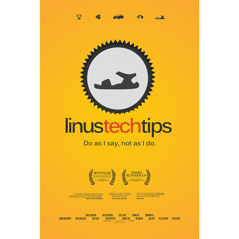 "Linus Tech Tips -  24""x36"" Poster"