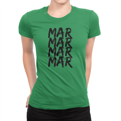 MarMar Stacked - Ladies T-Shirt