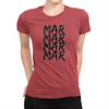 MarMar Stacked - Ladies T-Shirt Red