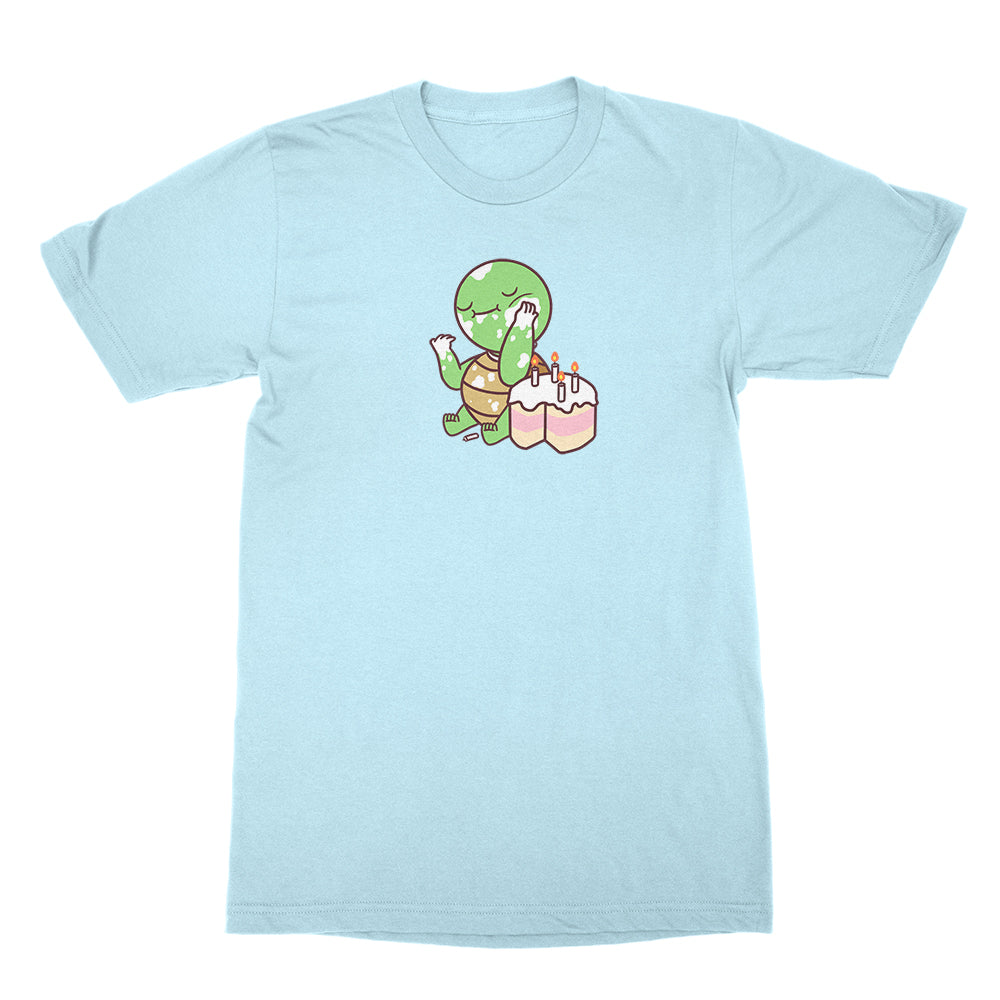 Turtle Cake - Unisex Shirt Light Blue