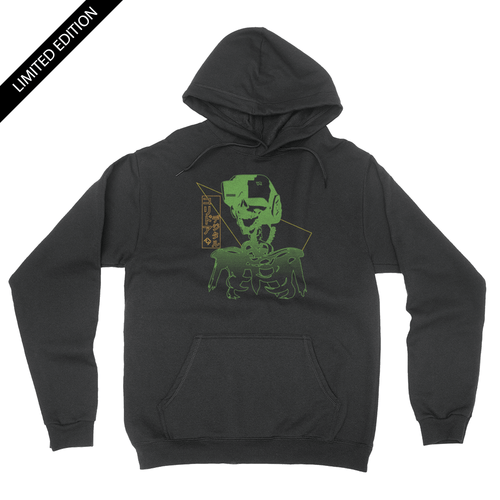 Limited Edition - VR Skull - Unisex Pullover Hoodie
