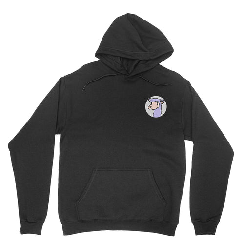 Llama Arts - Embroidered Unisex Pullover Hoodie