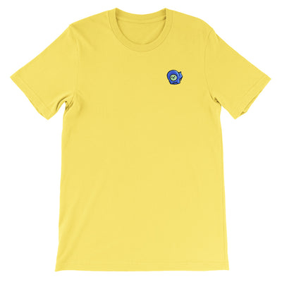 Gingerpale Icon Embroidered T-shirt Maize Yellow