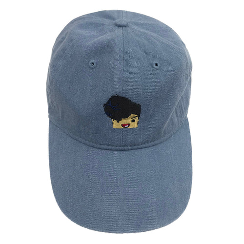 Marlin Dad Hat Blue Jean