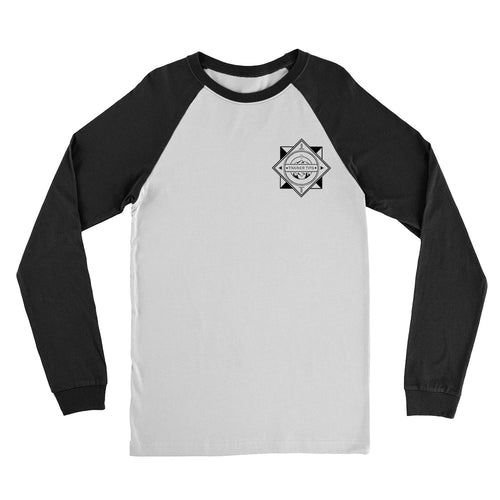 Trainer Tips Logo - Unisex Baseball Tee White/Black