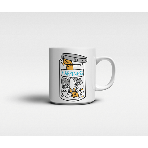 Happiness Jar Mug