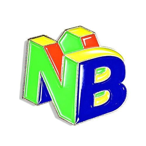 Nathaniel Bandy NB64 Enamel Pin