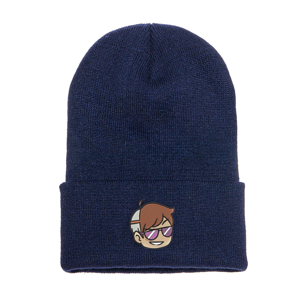 Logo Embroidered Beanie