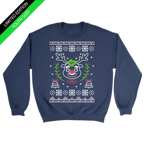 Limited Edition - Reindeer Guavs Holiday Sweater - Youth Sweater