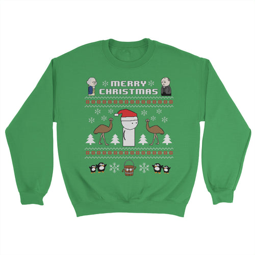 OverSimplified 8-bit Holiday Sweater