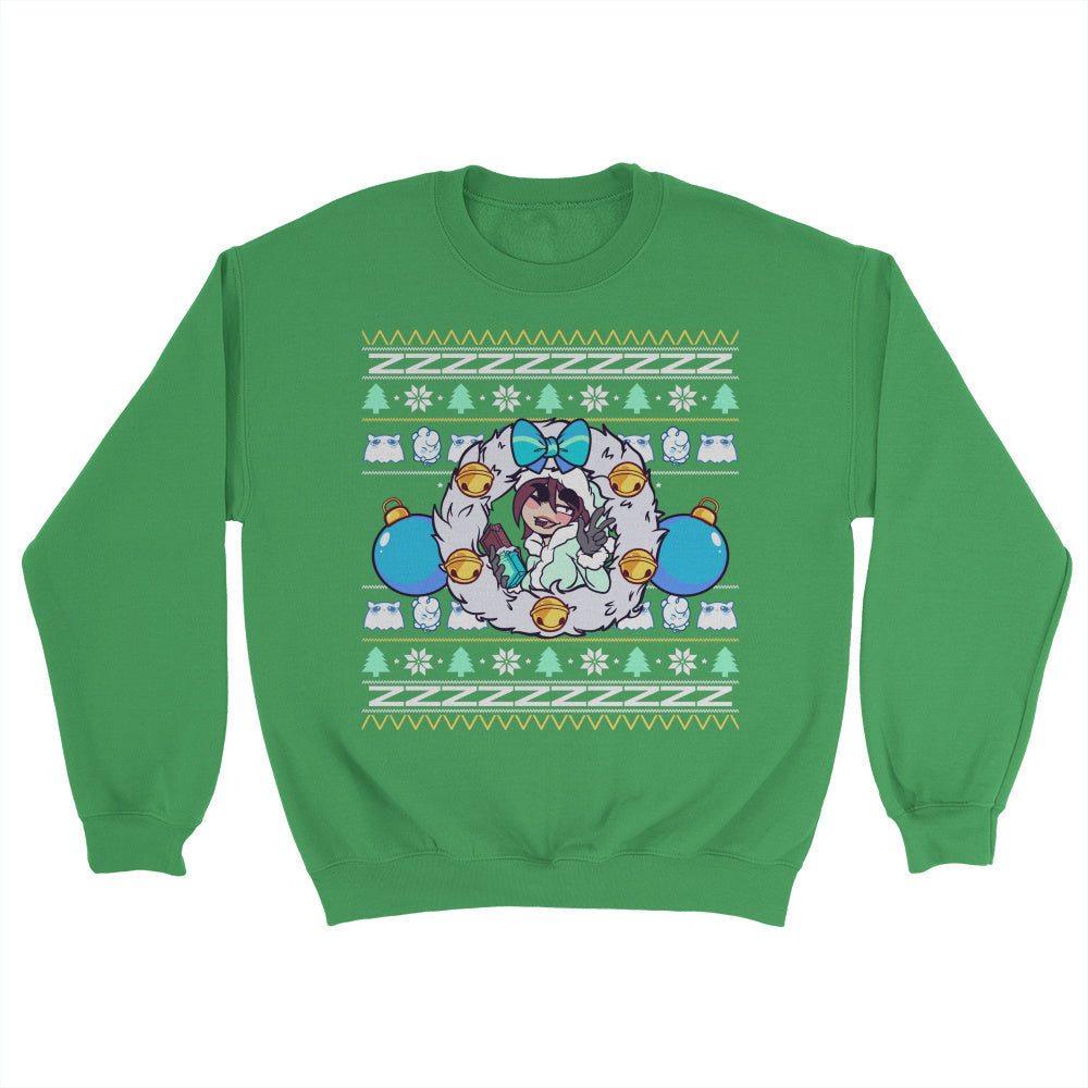 PantslessPajamas Ugly Holiday Sweater