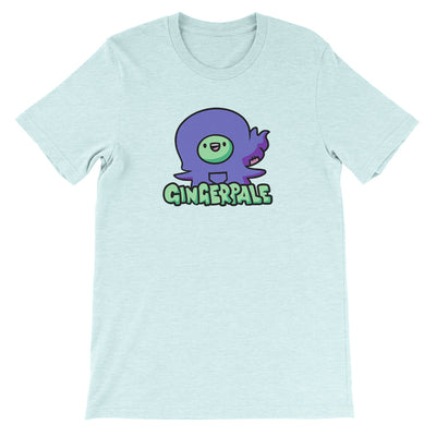 Little Gingerpale Unisex Shirt Heather Prism Ice Blue