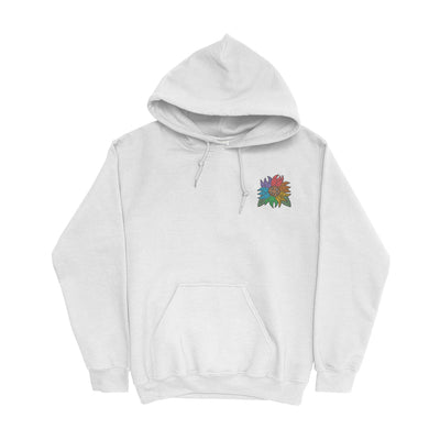 Pride Sunflower Embroidered Hoodie