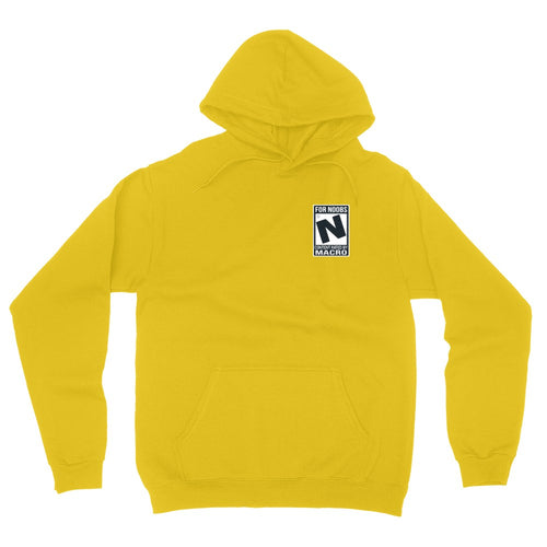 Rated N for Noobs Embroidered Hoodie