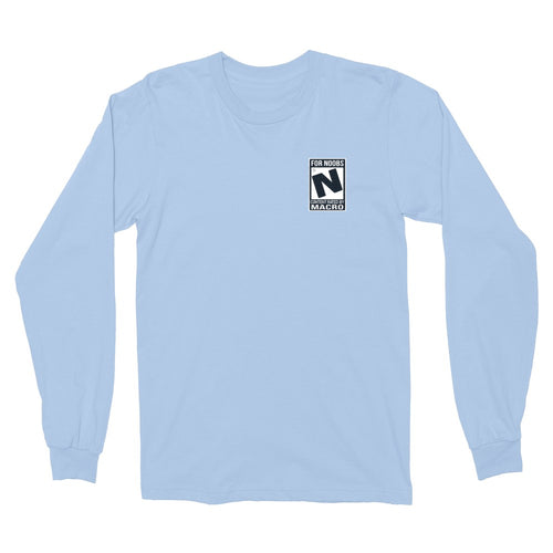 Rated N for Noobs Embroidered Longsleeve