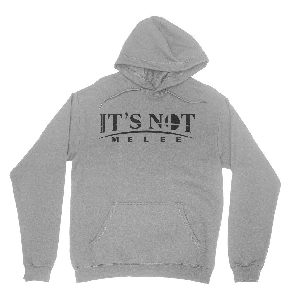 It's Not Melee - Unisex Pullover Hoodie Sports Grey