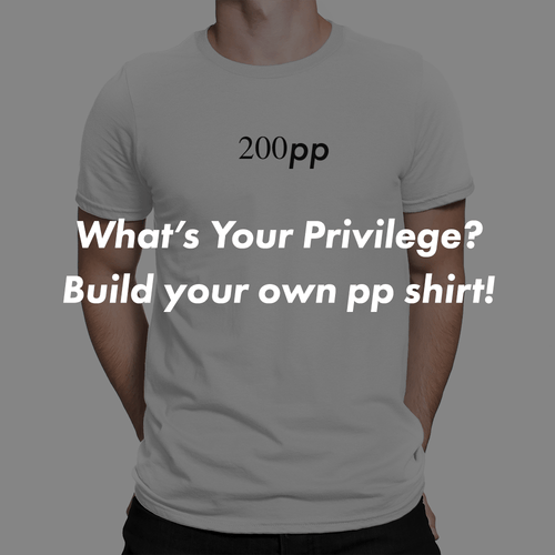 Custom pp unisex shirt - Build Your Own!