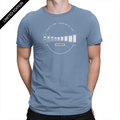 Limited Edition Mobile Evolution - Unisex T-Shirt Steel Blue
