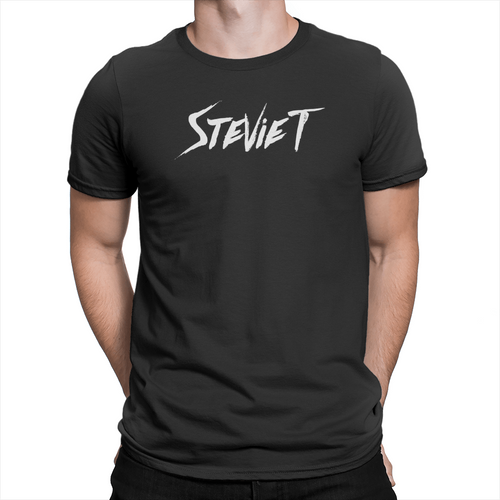 Stevie T Logo - Unisex T-Shirt Black