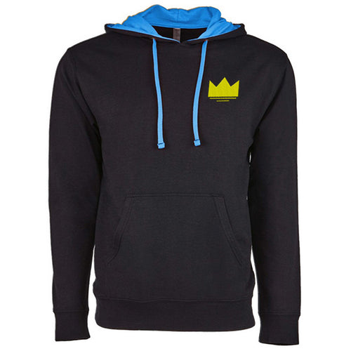 Sultan Crown - Embroidered Two-Tone Hoodie