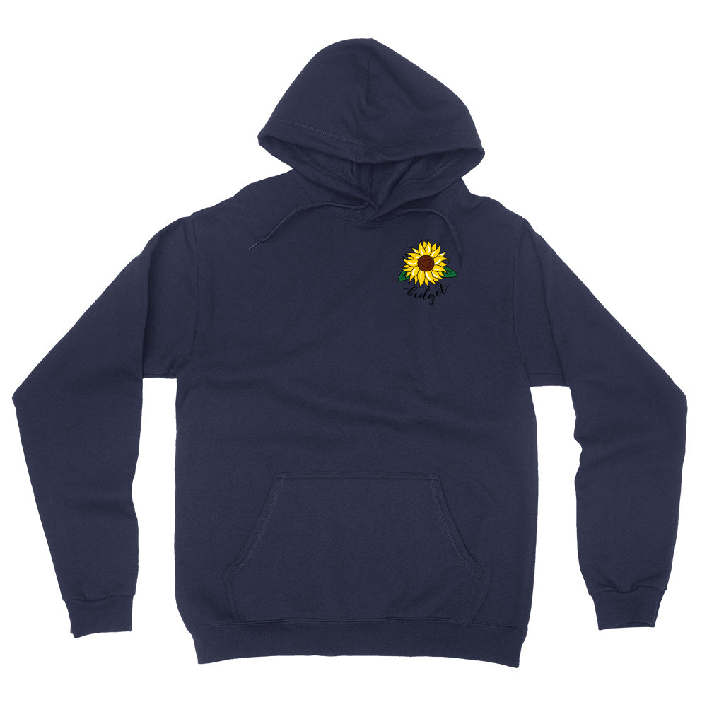Sunflower Embroidered Hoodie