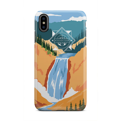RetroParks - Yellowstone iPhone Case