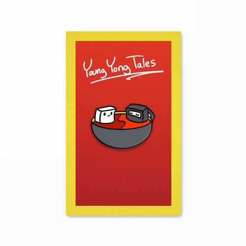 Young Yong Tales Tofu Bowl Pin