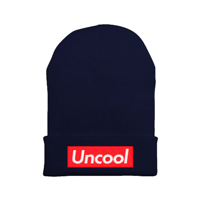 Uncool Embroidered Beanie