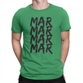 MarMar Stacked - Unisex T-Shirt Kelly Green