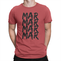 MarMar Stacked - Unisex T-Shirt Red