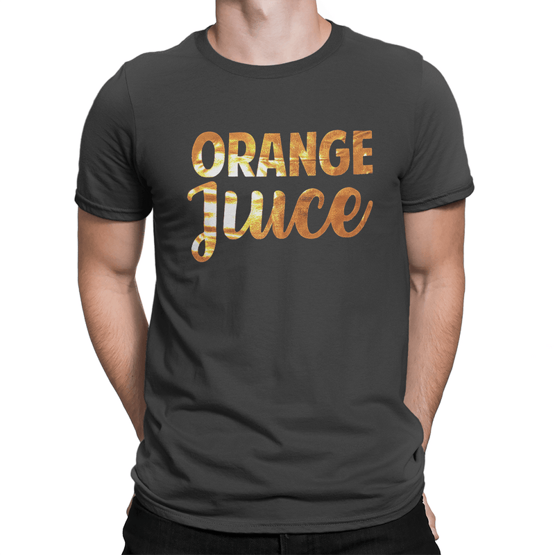 Orange Juice Orange Foil Logo - Unisex T-Shirt
