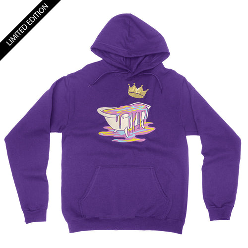 Limited Edition - Gold Crown Bathtub - Unisex Pullover Hoodie