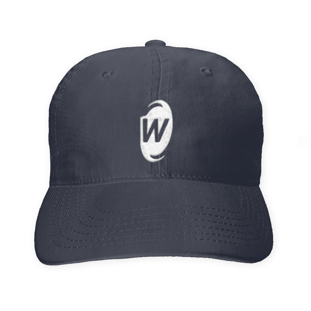Warp World W Emblem Embroidered Dad Hat